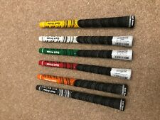 Golf Pride Grips - New Decade - Multi Compound.Mixed Colour & QTY. Two sizes. UK