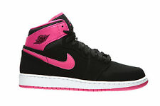 Nike Air Jordan Girls 1 Retro High Basketball Shoes Size 2Y