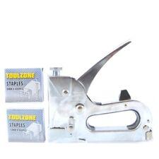 Toolzone ST003 Heavy Duty Staple Gun Includes 800 Free Staples
