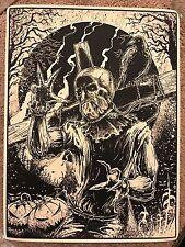 Godmachine Scarecrow Batman Dark Knight Movie Print Comic Poster Mondo DC Comics