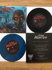 "IRON HUNTER - Killing Machine 7"" (NEW SPA SPEED METAL*LIM.200 BLACK V.*ENFORCER)"