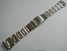 NEW 19MM SEIKO STAINLESS BAND FITS SEIKO 6139-6005/6002 PEPSI POGUE CHRONOGRAPH