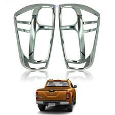 For 2014-16 Nissan Navara Np300 Renault Alaskan D23 Tail Lamp Light Chrome Cover