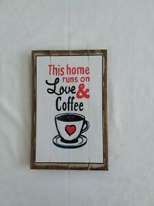 Plaque, sign, wall hanging, quote, inspirational, humourous, hand painted, wood