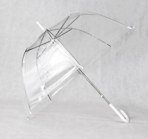 RoseBilly Premium Lightweight Clear Wedding Bubble Umbrella