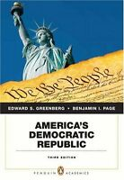 Americas Democratic Republic (3rd Edition)