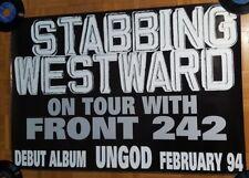 "Stabbing Westward FRONT 242 promo tour POSTER 26""x38"""