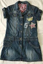 Girls Denim Dress By Next Size 9Years Boutique