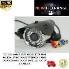 G5B-HD-SDi 1080P 2MP 8MM LENS 30M 36LED 12V NIGHTVISION IN/OUTDOOR BULLETCAMERA