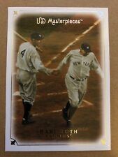 2007 UD Masterpieces Glossy #1 Babe Ruth