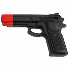 """7"""" Black Rubber Training Gun Police Dummy Non Firing Real Look and Feel"""
