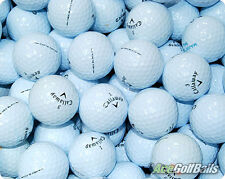 24 x Callaway Lake Golf Balls - Pearl / AAA - Chrome/Black/SR/Supersoft/Tour/X2