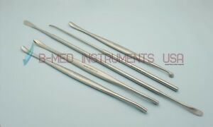 OR Grade 5 Penfield Dissector # 1 to 5 Neurology Spine Surgical Instruments