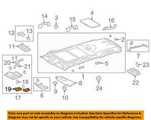 81265-60370 Toyota Lens, map lamp, no.1 8126560370