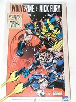 WOLVERINE & NICK FURY Scorpio Rising ( MARVEL US Comic First Print )