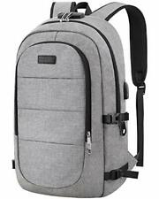Travel Laptop Backpack, AMBOR 15.6-17.3 Inch Anti Theft 17.3inch, Grey