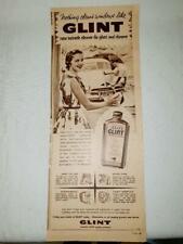 ORIGINAL 1956 Kiwi Glint Car Polish *FJ HOLDEN Advert    #23