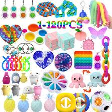 1-120 Figet Toys Anti Stress Toy Set Adults Kids Sensory Antistress Relief Toys