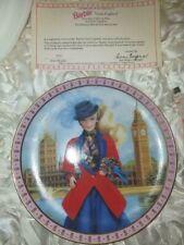 The Danbury Mint 1992Mattel Barbie Visits England Porcelain Collector Plate I321