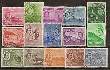 MAURITIUS 1953-58 TO 10R, 1967 TO 10R, 1969 MARINE LIFE TO 10R (71)