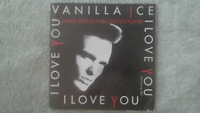 """VANILLA ICE I LOVE YOU 7"""" 1991 LTD EDITION FOLD-OUT ICE POSTER"""