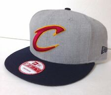 986ecd558d1 New ListingNew 28 CLEVELAND CAVALIERS SNAPBACK HAT 9Fifty Gray Big Letter C  Logo Men Women