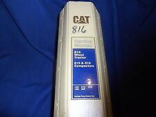 Cat Caterpillar 814 Tractor 815 816 Compactor Service Shop Repair Manual