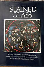 Stained Glass Illustrated almost 500 photos book LARGE format 11 x 15  2nd 1976