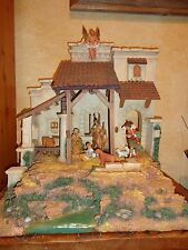 "Perfect Fontanini Designer Edition Nativity 5"" 1999 w/5"" figures"