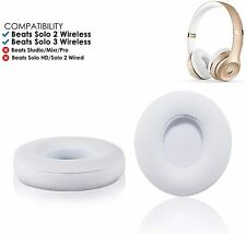 Ear Pad Cushions Soft Replacement For Beats Dre Solo 2 Solo 3 Wireless / Wired