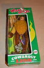 Vintage Mego Wizard of Oz Cowardly Lion Figure In Original Box with Medal