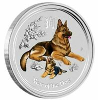 2018 YEAR OF THE DOG SYDNEY Money Special ANDA 1/4oz Coloured Coin