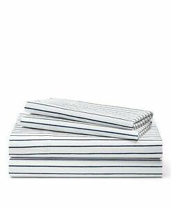 Lauren Ralph Lauren Spencer Stripe Queen Sheeting Set $170 Navy