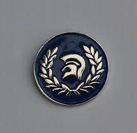 Blue Trojan Helmet Ska Reggae Soul Enamel  Pin Badge