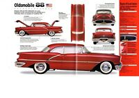 1954/1955/1956 OLDSMOBILE 88 SPEC SHEET/Brochure:SUPER