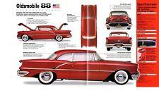 1954/1955/1956 OLDSMOBILE 88 SPEC SHEET/Brochure:SUPER