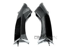 2006 - 2007 Kawasaki ZX10R Carbon Fiber Air Intake Covers - 1x1 Plain