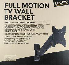 Adjustable TV Wall Bracket for Flat Panel Displays - LCD / LED / Plasma Screens