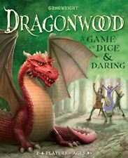 Gamewright Dragonwood Card Game For 2-4 Players A Game Of Dice And Daring
