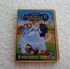 *~*Disney Cinderella Ii Dvd Case Pin*~*