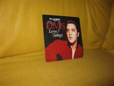 ELVIS PRESLEY Love Songs PROMO CD are you lonesome tonight