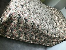1970s Liberty Bedspread Double Cotton Summer Vintage Throw Bed Cover Clarendon