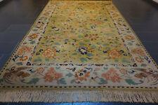 Schöner Alter Gewebter Orientteppich Vorwerk Täbriz Vögelmotiv Carpet 200x300cm