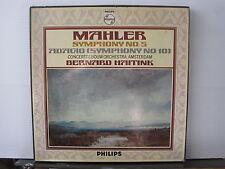 PHILIPS 6700048 MAHLER Symphony No 5 BERNARD HAITINK 2 VINYL LP BOX Free UK Post