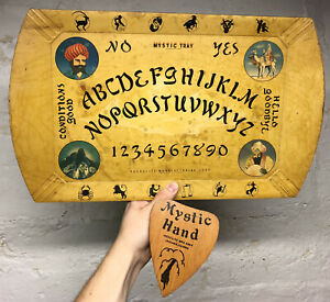 ✨RARE Vintage 1940's Haskelite Mystic Tray Ouija Board Occult Oddity Witchcraft✨