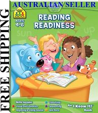 School Zone Reading Readiness I Know It Book + FREE SHIPPING