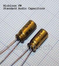 1uF 50V NICHICON FW Audio HiFi Capacitors Condensatore per audio 5 pezzi