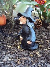 "Miniature / Fairy Garden ""Witch"" Perfect For Halloween - New"