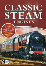 CLASSIC STEAM ENGINES - 3 DVD BOX SET - CITY OF TRURO, MARGARET ROSE & MORE