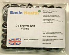 Co-Enzyme Q10 500mg x 60 Antioxidant Heart Energy Gum Disease